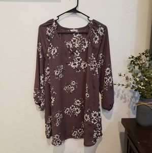 Maurices size 1x 3/4 sleeve shirt